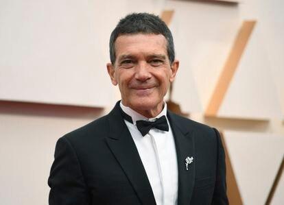 Antonio Banderas en los premios Oscar de 2020.