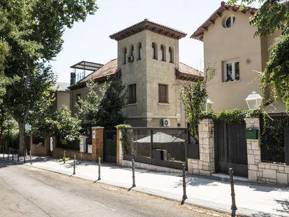 Una vivienda en la colonia Retiro en Madrid.