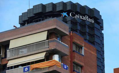 Edificio de la Caixa en Barcelona.
