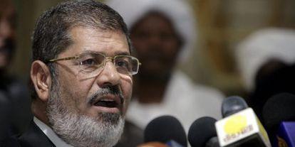 El presidente egipcio, Mohamed Morsi, en una imagen de archivo.