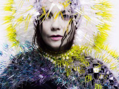 Portada del nuevo álbum de Björk.