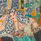 Henri Matisse (1869-1957), Odalisca en una butaca negra, 1942.