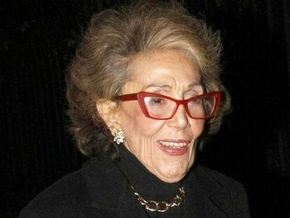 Sylvia Martín, en 2012