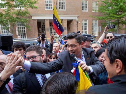 El representante en EE UU del líder opositor venezolano Juan Guaido, Carlos Vecchio.