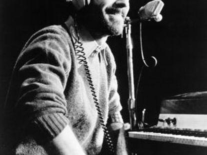 Jesse Winchester, cantautor, en torno a 1970.