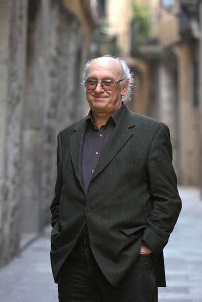 El escritor griego Petros Márkaris, ganador el VII Premio Pepe Carvalho.