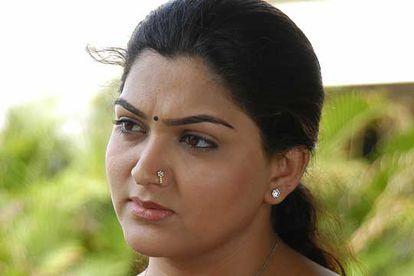 La actriz india Khushboo, durante un rodaje en Chennai (antigua Madrás, India).  REUTERS