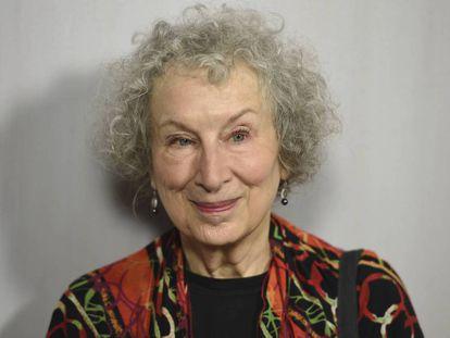 Margaret Atwood, en Los Ángeles, en octubre de 2018.