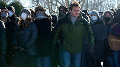 Matt Damon, in 'Contagion'