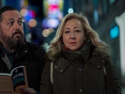 Pepón Nieto y Carmen Machi en 'Un efecto óptico', de Juan Cavestany.