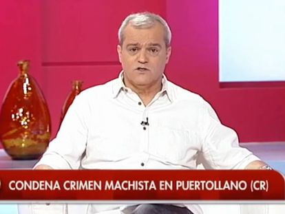 Ramón García lamenta el crimen machista de una invitada a su programa.