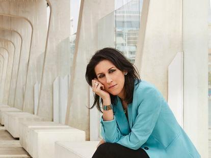 La periodista Ana Bernal en Málaga.