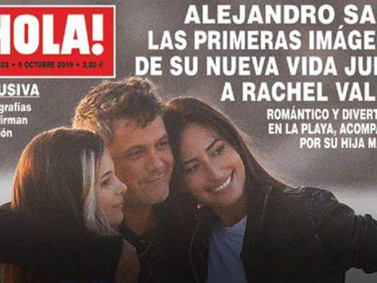 En vídeo, así es la novia de Alejandro Sanz.