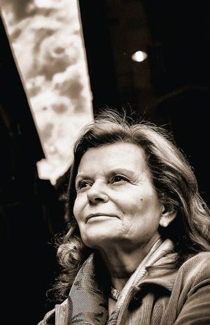 La escritora Carme Riera.