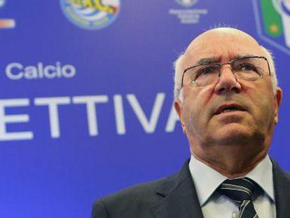 Tavechio, presidente electo de la federación.