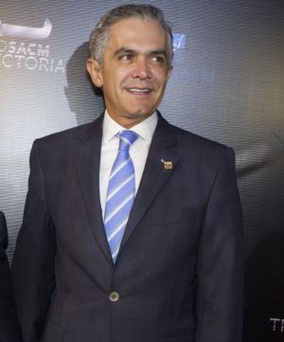 Miguel Ángel Mancera, jefe de Gobierno del DF.