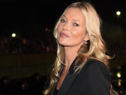 Kate Moss, en un desfile celebrado en París el pasado septiembre.