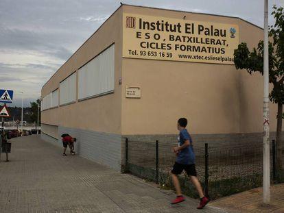 El instituto El Palau, de Sant Andreu de la Barca.