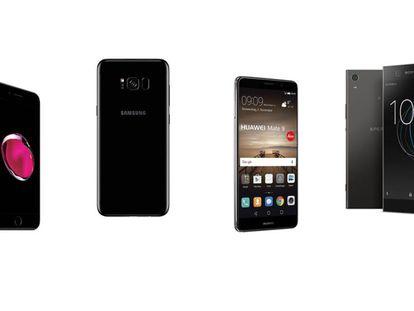 Los mejores móviles de tamaño grande de gama alta
