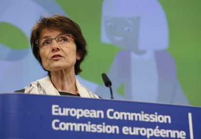 La comisaria europea de Empleo y Asuntos Sociales, Marianne Thyssen