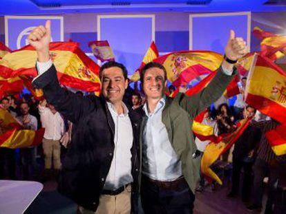El líder del PP tendrá una ruta independiente a la del candidato popular a la Junta