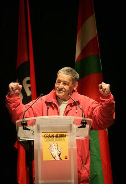 Jon Idígoras, en su intervención de noviembre de 2004.