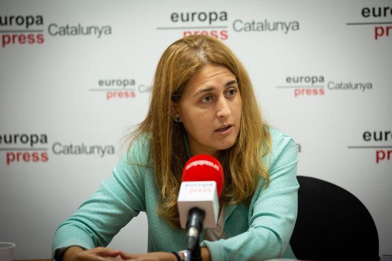 La secretaria general del PNC, Marta Pascal. David Zorrakino - Europa Press