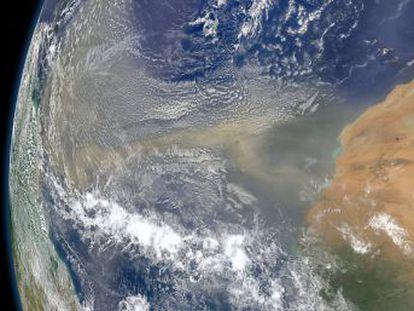 El polvo sahariano sobre el océano alteró el patrón de lluvias hace 11.000 años