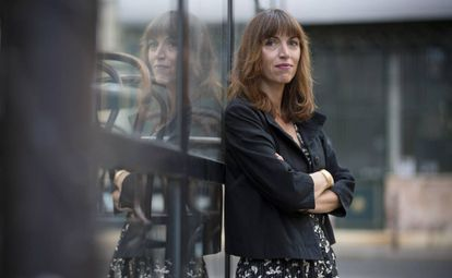 Vanessa Springora, retratada en París esta semana.
