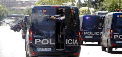 Un agente dispara el día que resultó herida Baudín.