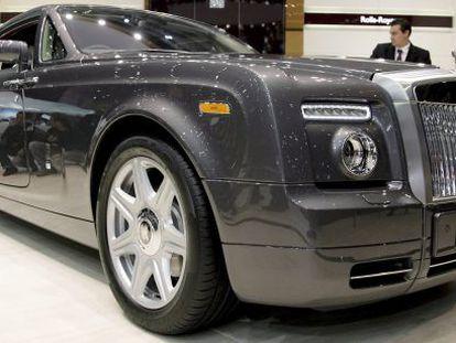 El modelo Phantom Coupe de Rolls Royce.