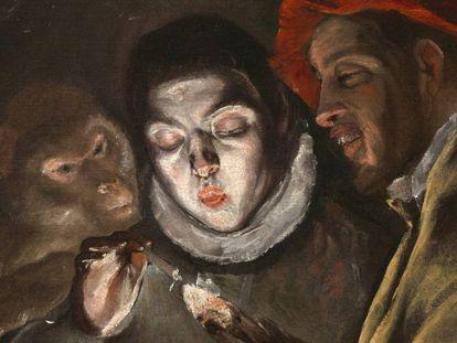 La pintura 'Una fábula', de Doménikos Theotokópoulos, el Greco.