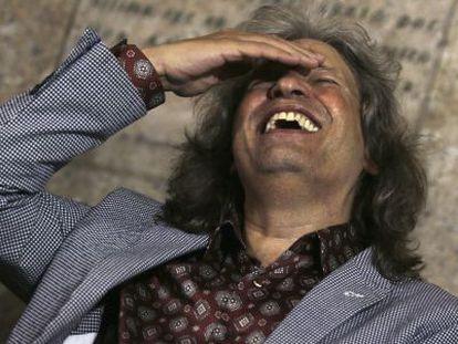 José Mercé, este miércoles en Almería.