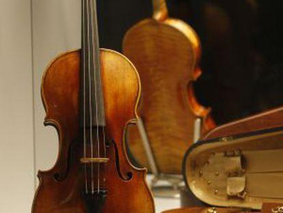 Violín Stradivarius de 1713.