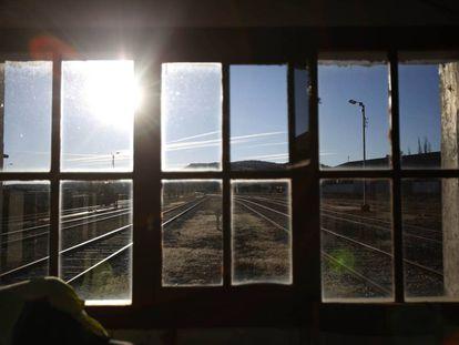 Estación de tren de Soria.