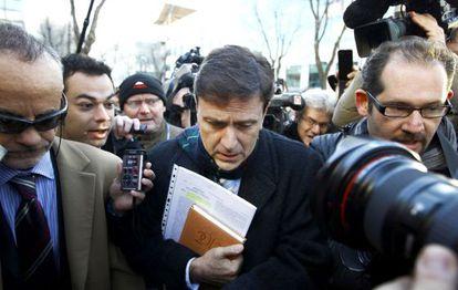 Eufemiano Fuentes, en una de las jornadas del juicio