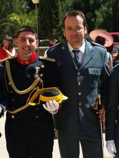 Víctor Romero Pérez y Víctor Jesús Caballero Espinosa, los guardias civiles que mató Igor el Ruso.