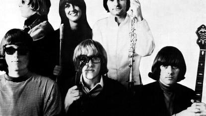 El grupo Jefferson Airplane, en 1967.