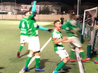 El modesto club madrileño se enfrentará en diciembre al Mallorca en su estreno en la Copa del Rey