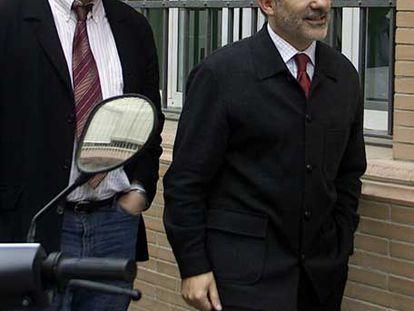 Diego Valderas y Gaspar Llamazares, en Sevilla, en 2005.