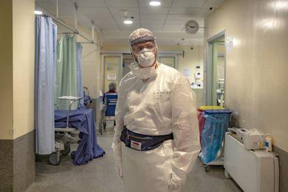El doctor Stefano Paglia, jefe de las Urgencias del hospital de Codogno y Lodi.