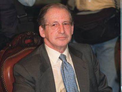 Jesús Leguina Villa, en una imagen de 2001.