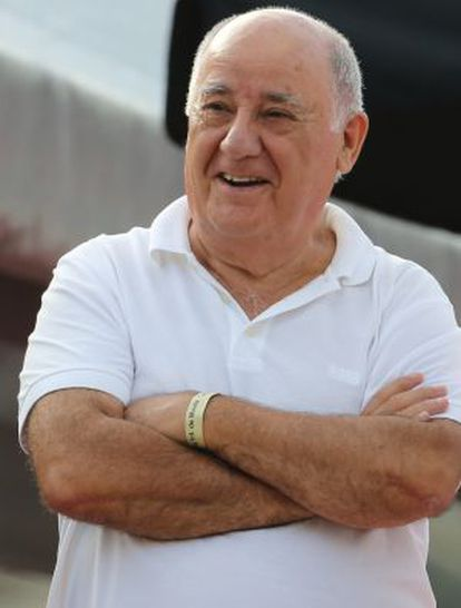 Amancio Ortega, fundador de Inditex y dueño de Pontegadea