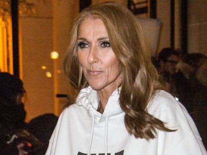 Céline Dion, en París.