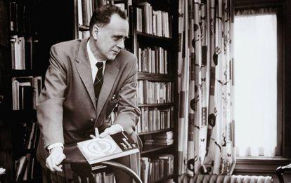 Marshall McLuhan, en una imagen de 1966.