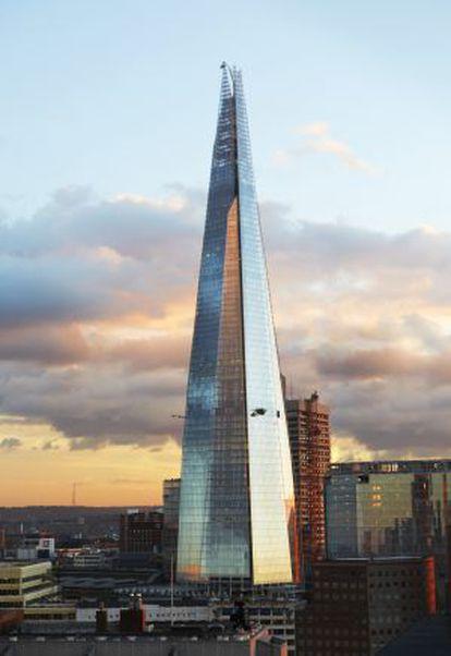 The Shard, colosal torre de Renzo Piano en el centro de Londres.