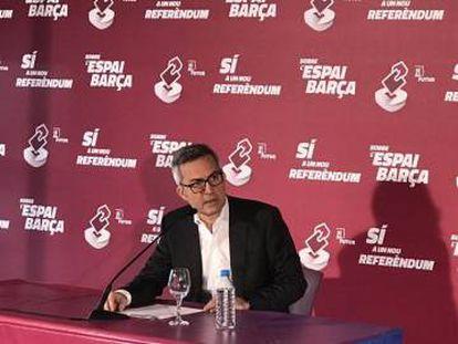 Víctor Font, precandidato a la presidencia del FC Barcelona.
