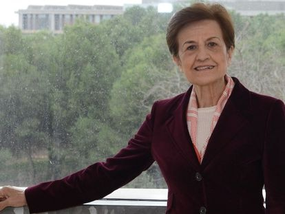 La filósofa española Adela Cortina.