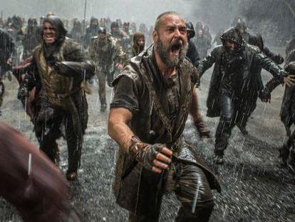 Russell Crowe, en una imagen de 'Noé'.