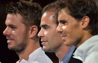Wawrinka, Pete Sampras y Nadal.